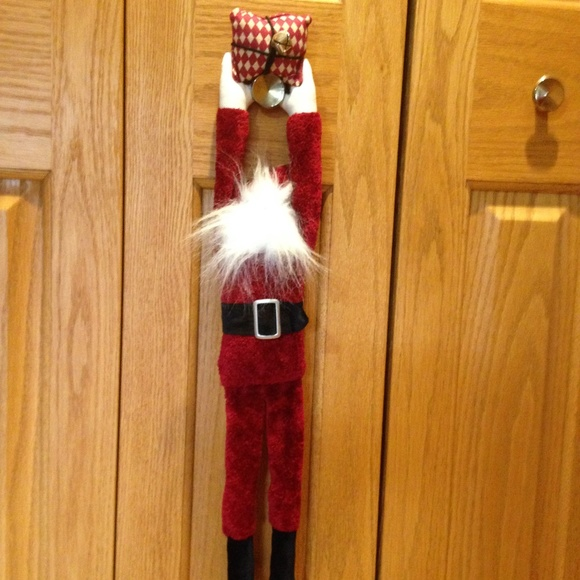 Woof & Poof Other - WOOF & POOF - 2003 Hanging Santa - Excellent Cond.